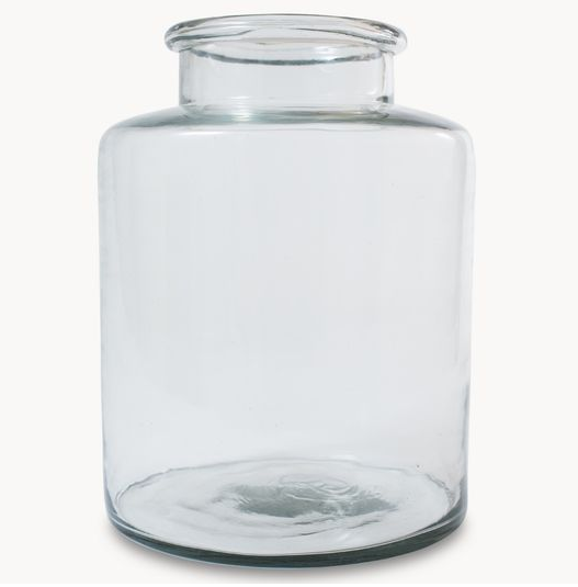 Large Clear Vase 55 Yes Please