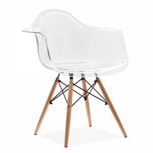 Eames style ghost chair