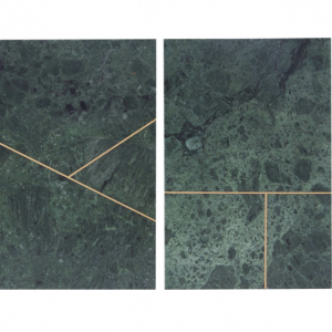 2 green marble kitchen slabs