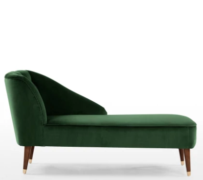 Velvet Chaise Green Velvet Please Green Longue£449Yes mN08nw