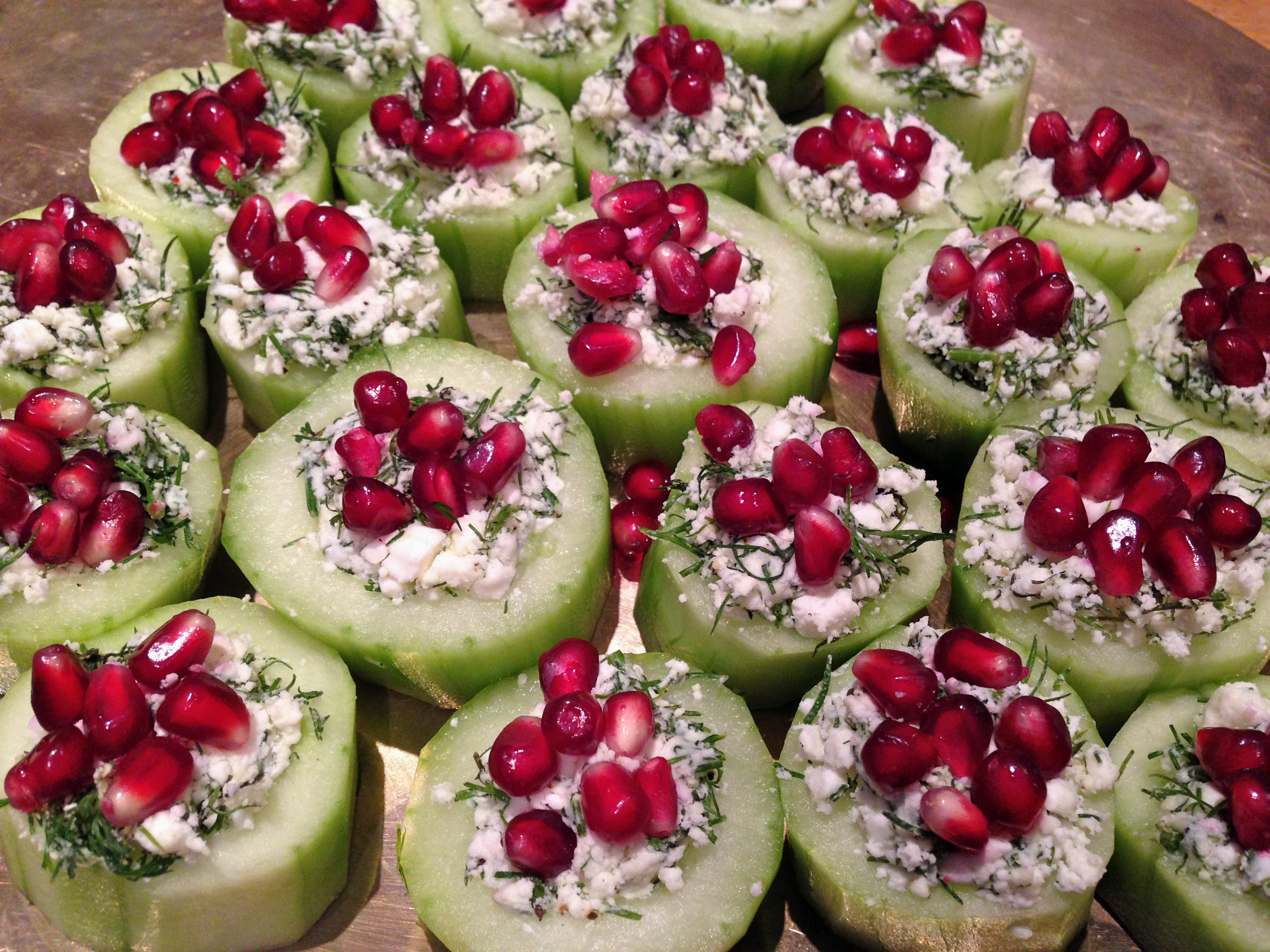 Cucumber cups canap s yes please for Canape companies