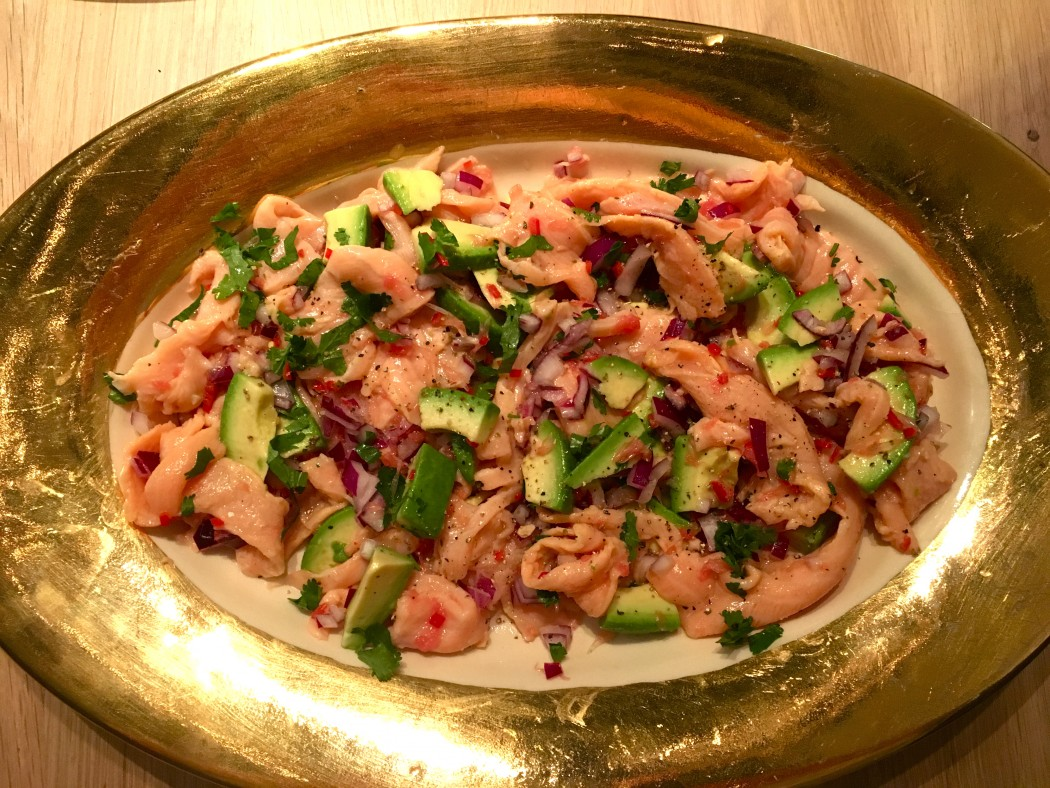 salmon ceviche recipe