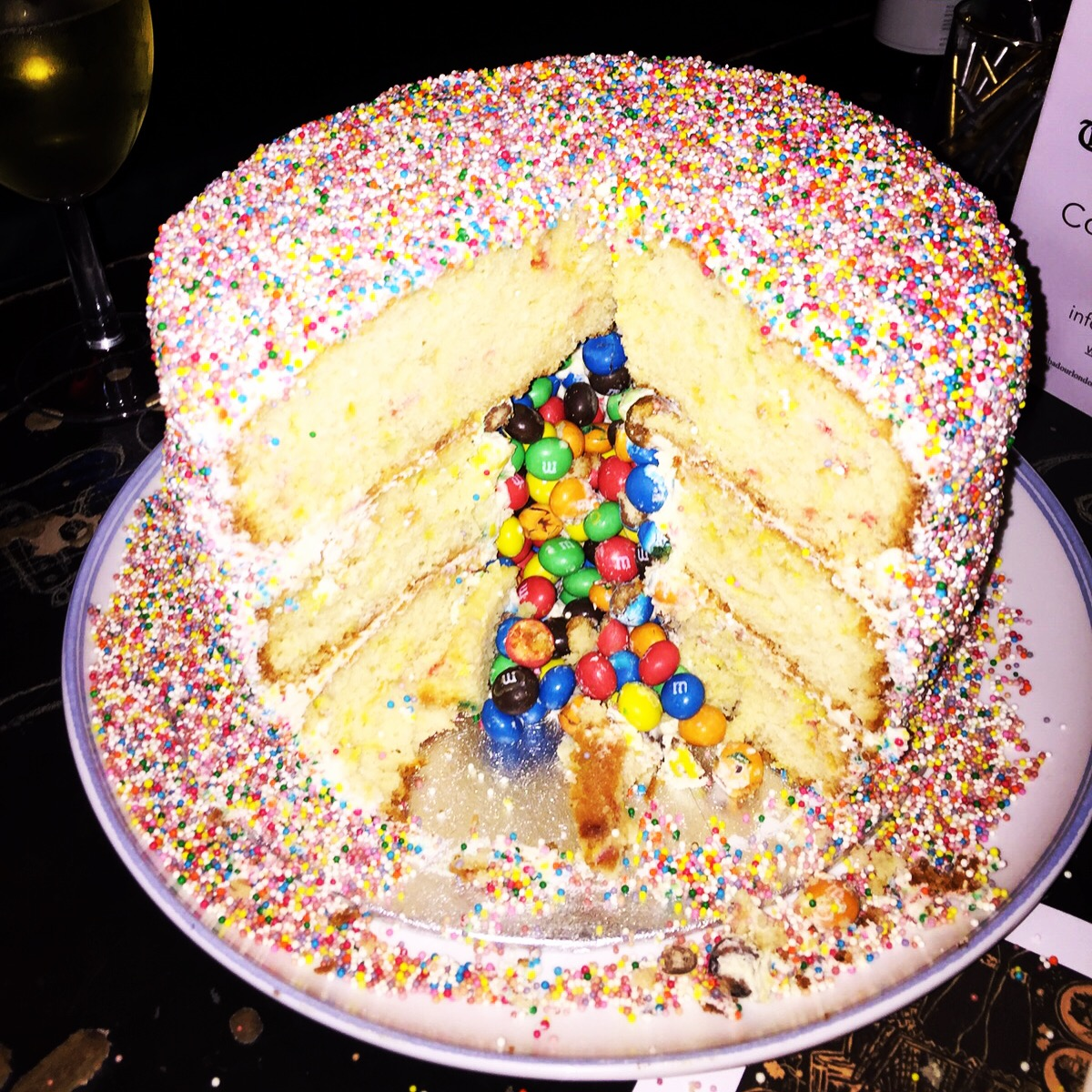 Easy Funfetti Pi 241 Ata Birthday Cake 🎂 Yes Please