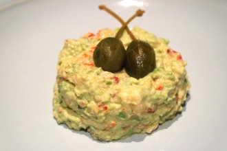 crayfish avocado starter