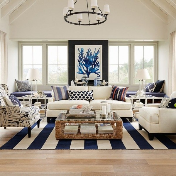 How to get the hamptons style for less yes please for Coastal living rooms ideas