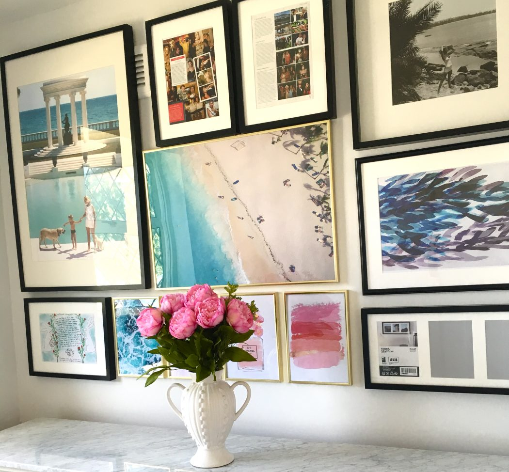 I Recently Wrote About The Power Of A Gallery Wall And After Putting Together Myself For My Home Office Makeover Ive Found Few Brilliant