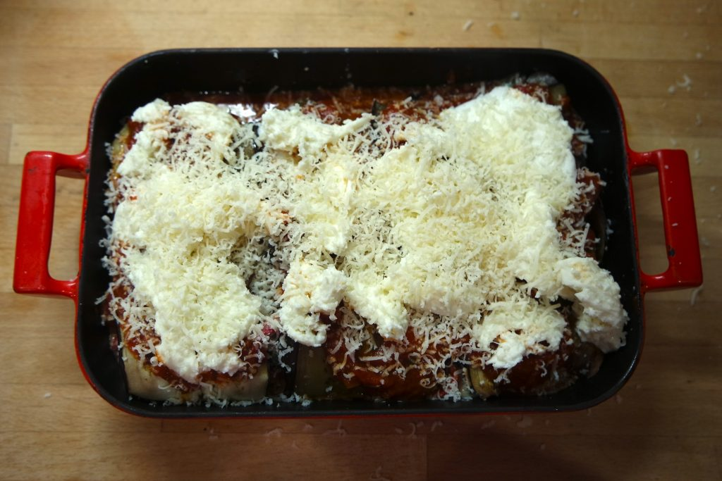 vegetarian cannelloni recipe