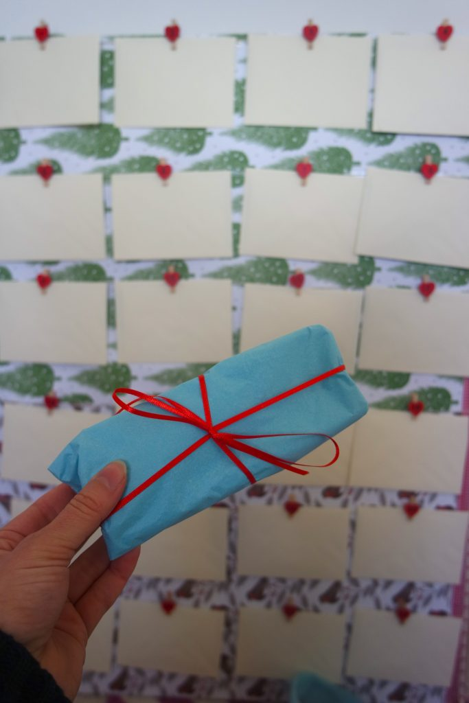 DIY homemade advent calendar