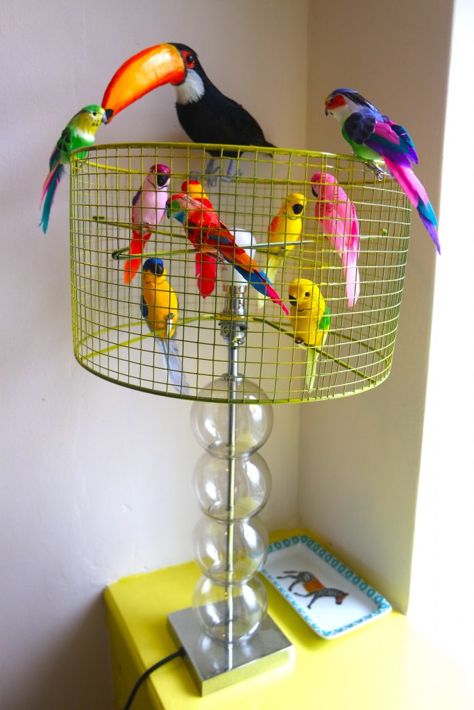 Diy Bird Toys : Fun and easy diy birdcage lampshade yes please