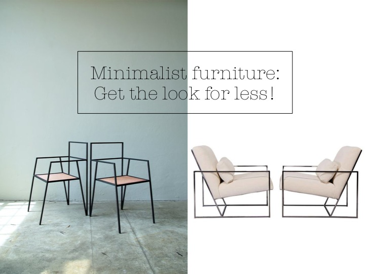Minimalist Skinny Furniture Get The Designer Look For Less Yes