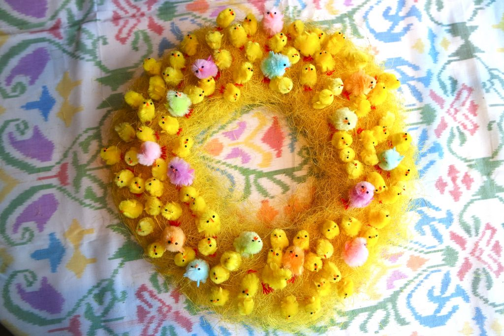 Easter Chick Wreath Diy Yes Please