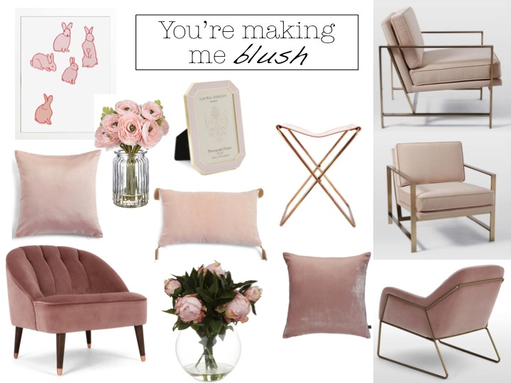 I Ve Fallen Head Over Heels In Love With All Things Pastel Soft Blush Pink Especially When It Comes To Velvet And As Much Would A Beautiful
