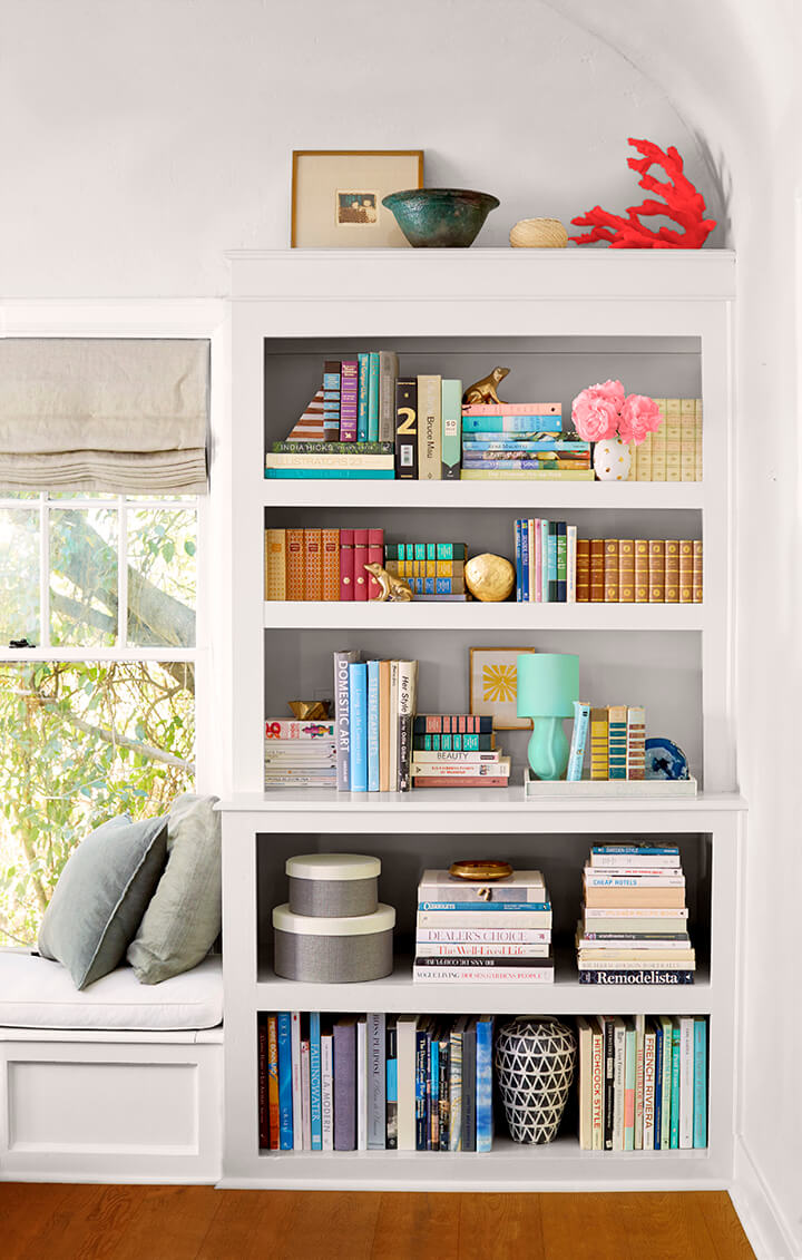 Styling Your Shelves Is One Of The Quickest And Easiest Ways To Decorate A Room If Wall In Dominated By Book Case Or Built Shelving