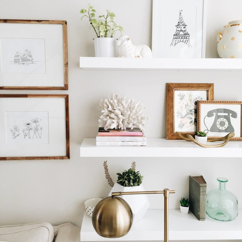 Kitchen Corner Shelf Decorating Ideas: The Best Sculptures And Ornaments For Shelf Styling And