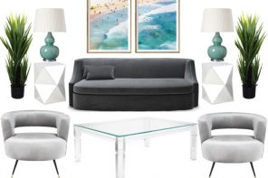 How to create a Palm Springs inspired living room