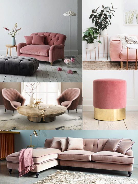 Dusty Blush Pink Sofas Yes Please