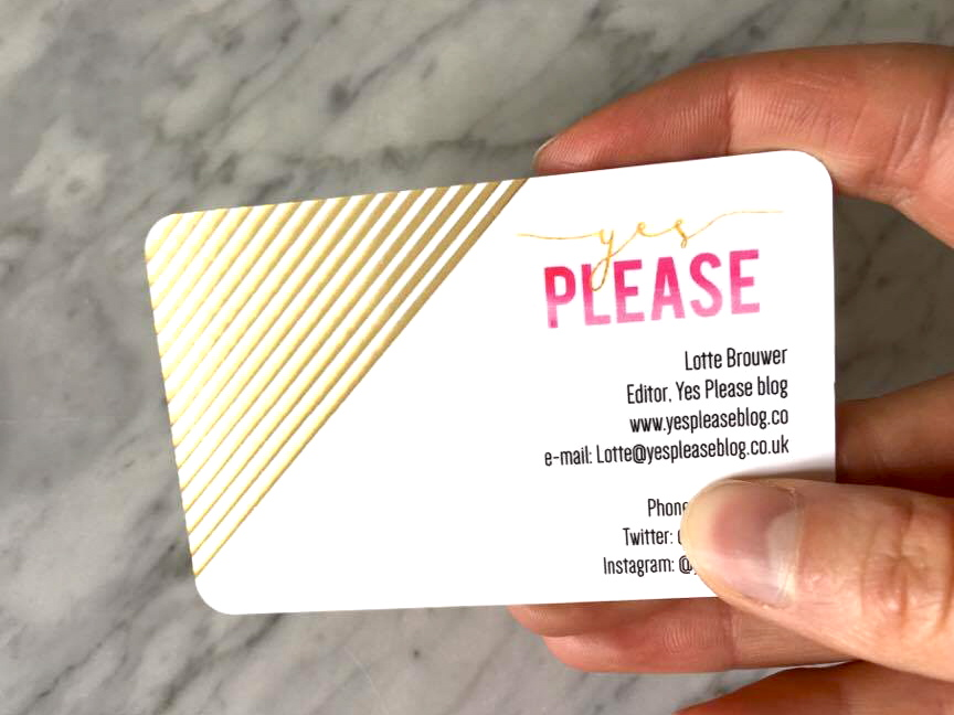 Moo business cards | Yes Please