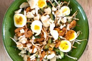 Indonesian Gado gado salad