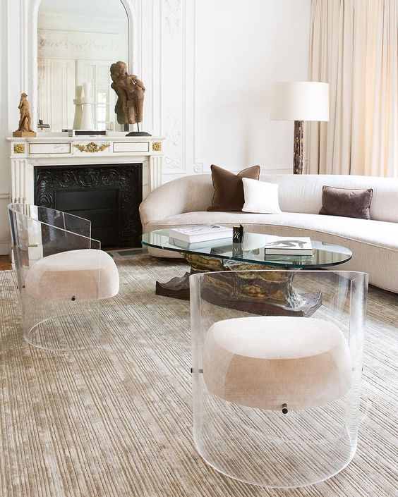 Affordable Vintage Furniture: Glass Act: Where To Find Affordable Clear Lucite, Acrylic