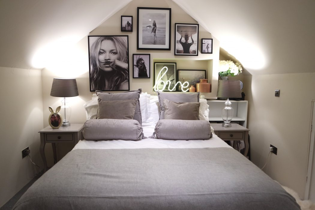 Our 24 hour loft guest bedroom makeover: Before & After! | Yes Please