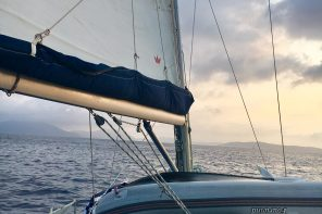Sailing around the Greek islands