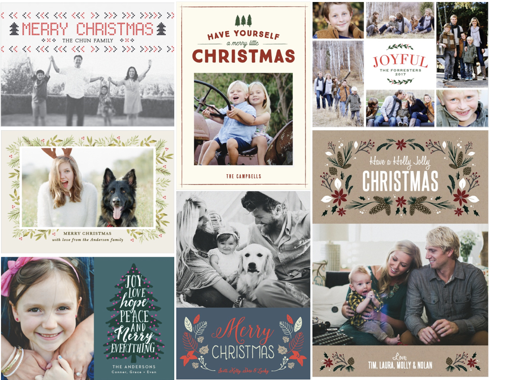 The best personalised Christmas cards and Christmas party ...