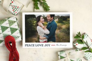 The best personalised Christmas cards and Christmas party invitations