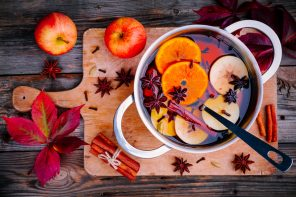Spiced mulled cider recipe