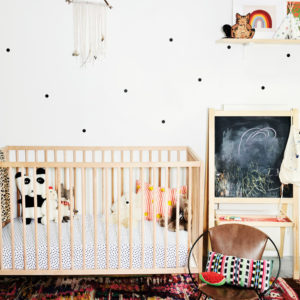 Colourful, Eclectic And Bohemian Nursery Design Inspiration